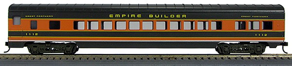 HO 72 Ft Passenger Car Coach #1110 Great Northern Empire Builder (1-000903)