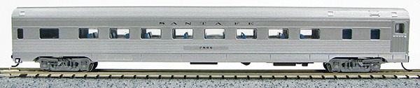 N Budd Santa Fe (silver car)