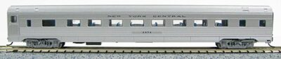 N Budd New York Central (Silver car)