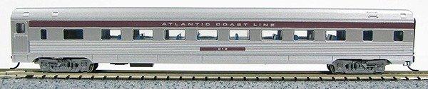 N Budd Atlantic Coast Line (Silver w/ Purple letterboard)