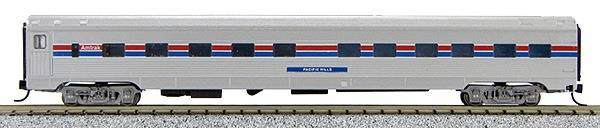 N Budd Amtrak Phase III Paint Scheme