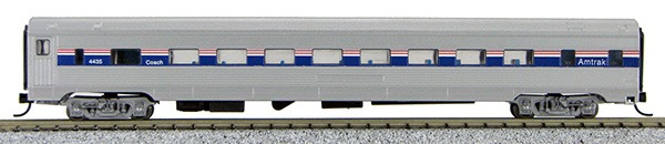 N Budd Amtrak Phase IV Paint Scheme