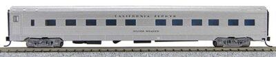 N Budd California Zephyr (Silver Car)