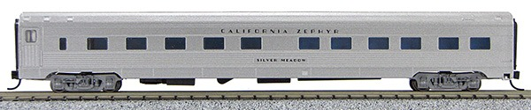 N Budd California Zephyr (Silver Car)