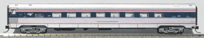 "N Budd Amtrak 4b ""Wave"" Paint Scheme"