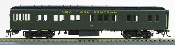 HO New York Central  BCS Solarium (Pull Green)