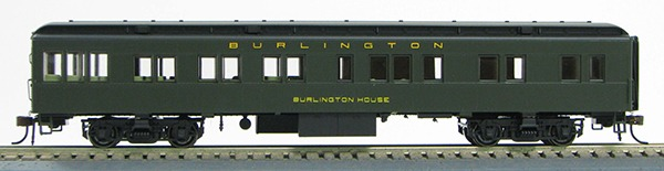 HO Burlington Rt BCS Solarium (Pull Green)