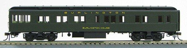HO Burlington Rt BCS Solarium (Pull Green)