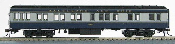 HO Baltimore &Ohio  BCS Solarium (Blue-Gray)