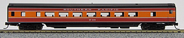N Con-Cor Smooth Side Passenger Cars Southern Pacific (Daylight) (1-40026)