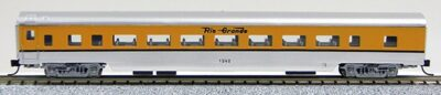 N Con-Cor Smooth Side Passenger Cars Denver & Rio Grande Western (1-40033)