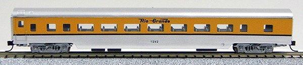 N Con-Cor Smooth Side Passenger Cars Denver & Rio Grande Western (1-40033)