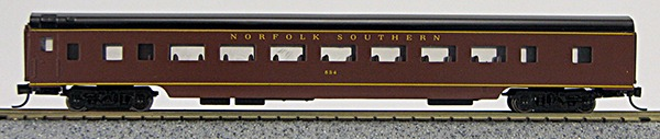 N Con-Cor Smooth Side Passenger Cars Norfolk Southern (Wine color) (1-40044)