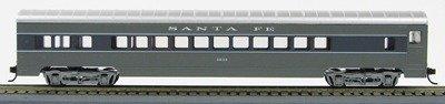 HO 72 Ft Passenger Car Coach #3064 Santa Fe Scout (Two-tone gray)(1-00900D)