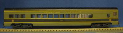HO 72 Ft Passenger Car Coach #5463 Canadian National (Green/black) (1-00900K)