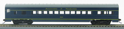 HO 72 Ft Passenger Car Coach #3362  L&N Pan American (L&N Blue/gold) (1-00900Q)