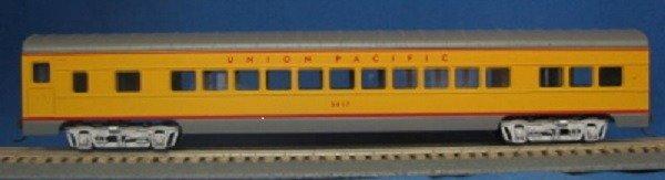 HO 72 Ft Passenger Car Coach #5417 Union Pacific (yellow/gray) (1-000901)