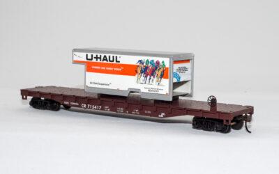 U-Haul Kentucky on Conrail Flatcar
