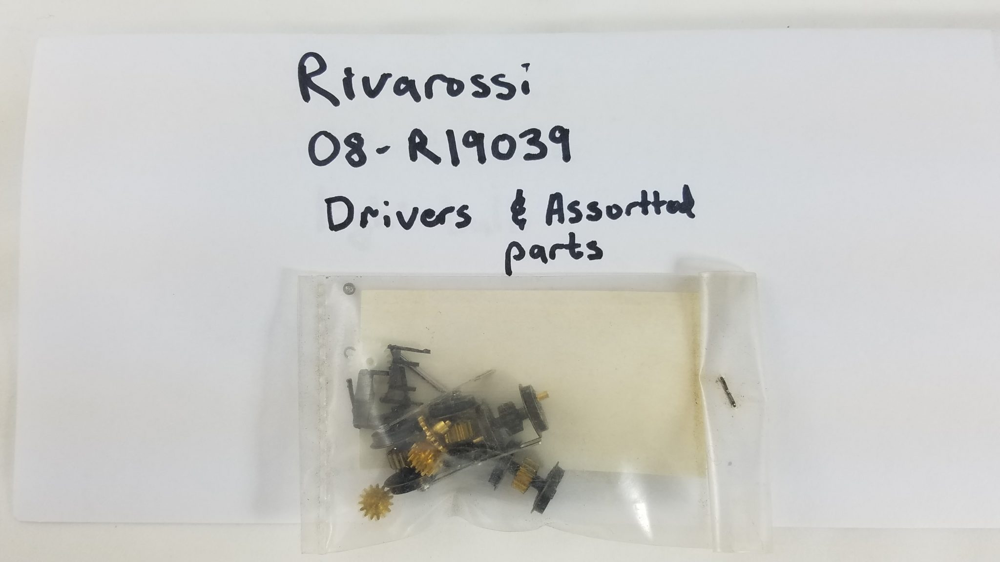 N Rivarossi Drivers (Wheels and Gear)