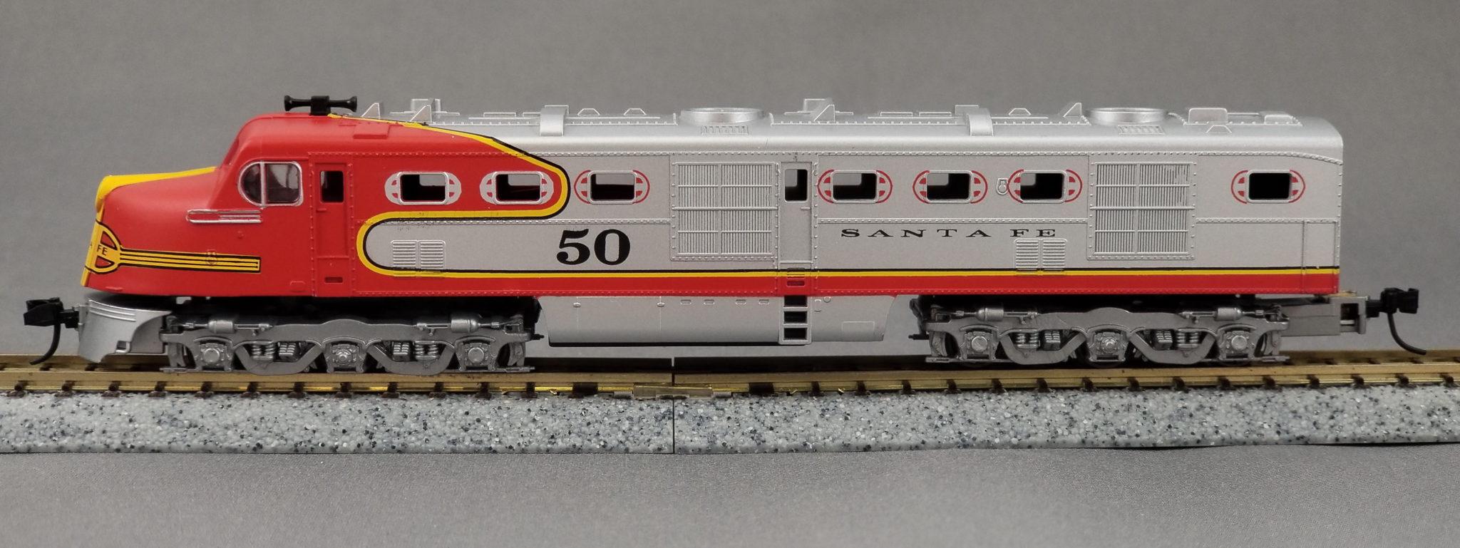 n dl109 dummy with light – atsf loco#38