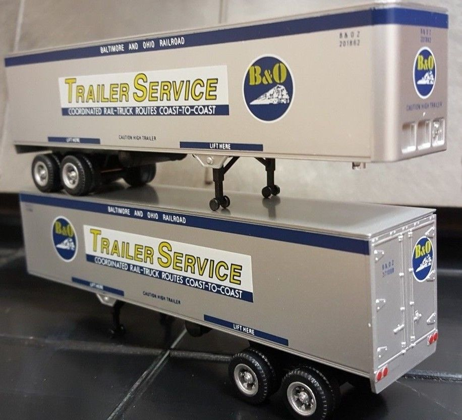 HO 40FT TRAILER 2 PACK NORTHERN PACIFIC 0004-008139