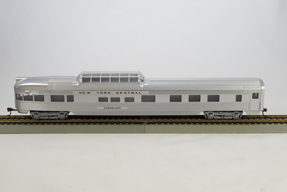 85 BUDD OBSERVATION READY TO RUN SILVER NEW YORK CENTRAL